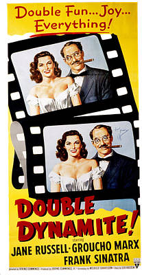 Fid Photograph - Double Dynamite, Jane Russell, Groucho by Everett