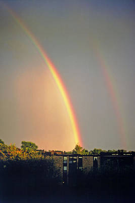 Photograph - Double Rainbow by Rod Jones