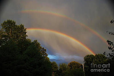 Double Rainbow Art Print by Science Source