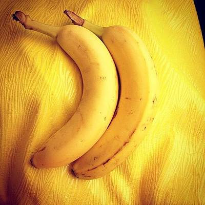 Banana Wall Art - Photograph - Double The Pleasure, Double The Fun by Emily Mulle