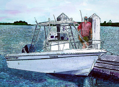 Painting - Dougie's Serenity by Mickey Krause