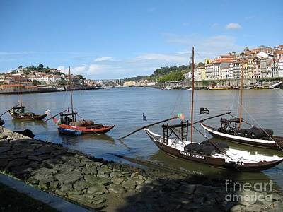 Art Print featuring the photograph Douro River by Arlene Carmel