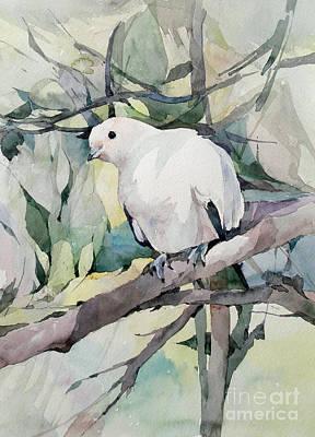 Painting - Dove by Natalia Eremeyeva Duarte