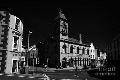 Down Arts Centre Center Old Town Hall Downpatrick County Down Ireland Art Print by Joe Fox