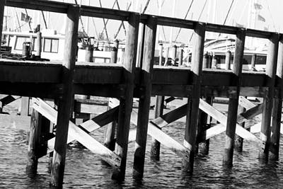 Photograph - Down By The Marina by Nicholas Evans