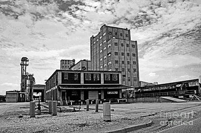 Landscape Photograph - Down By The Rail Yard by Gib Martinez