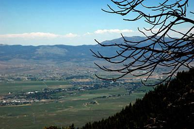 Tahoe Photograph - Down In The Carson Valley by LeeAnn McLaneGoetz McLaneGoetzStudioLLCcom