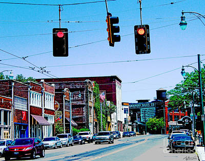 Photograph - Down On South Main Street by Lizi Beard-Ward