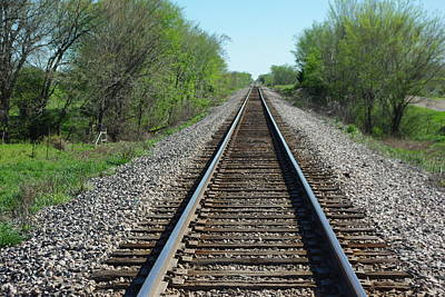 Photograph - Down The Tracks by Robyn Stacey