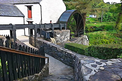 Art Print featuring the photograph Down To The Mill by Charlie and Norma Brock