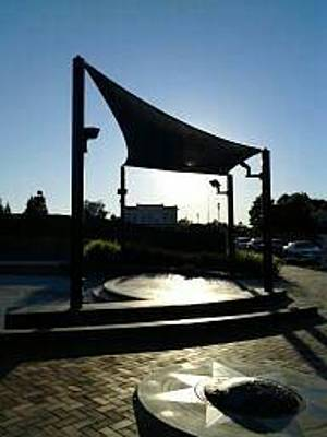 Photograph - Down Town Sunset In Pittsburg California City Center by Mary Ann Tidwell Broussard