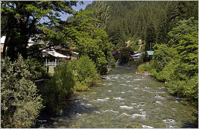 Photograph - Downieville River - California by Gary Rose