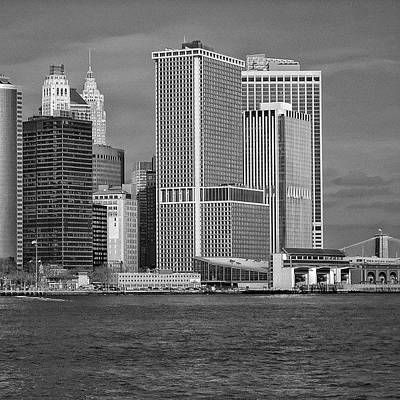 Downtown Photograph - Downtown - New York by Joel Lopez