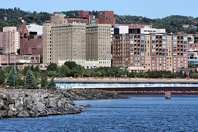 Duluth Photograph - Downtown Duluth by Kristin Elmquist