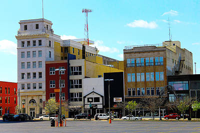 Photograph - Downtown Flint Michigan by Scott Hovind