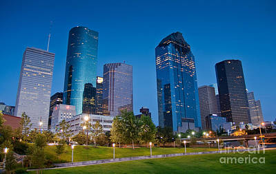 Photograph - Downtown Houston by Olivier Steiner