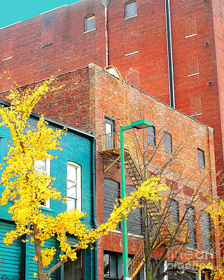 Digital Art - Downtown by Lizi Beard-Ward