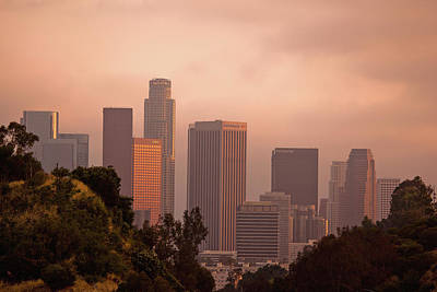 Downtown Los Angeles Art Print by Andrew Kennelly