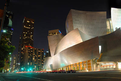 Down Town Los Angeles Photograph - Downtown Los Angeles by Dung Ma