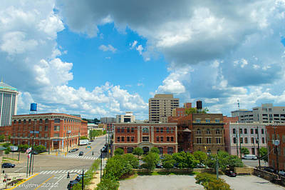 Photograph - Downtown Montgomery by Shannon Harrington