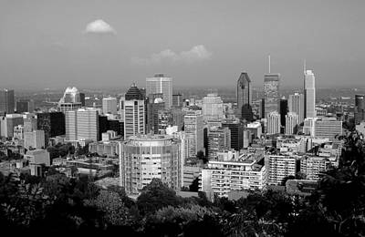 Photograph - Downtown Montreal by Robert Knight