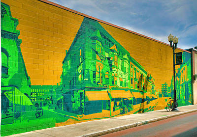Downtown Mural IIi Art Print by Steven Ainsworth