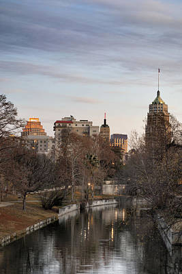 Downtown San Antonio, Texas Art Print