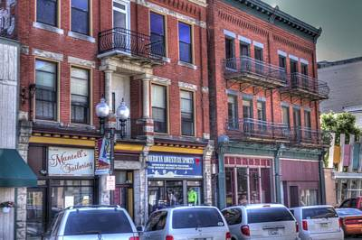 Photograph - Downtown Shops by Coby Cooper