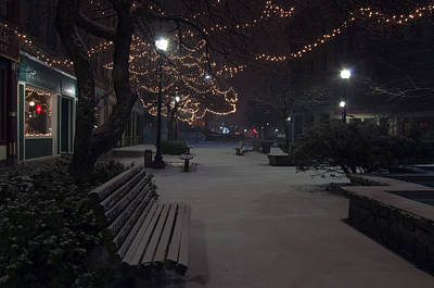 Photograph - Downtown Winter by Glenn Gordon