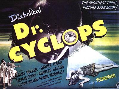 Cyclops Photograph - Dr. Cyclops, Aka Doctor Cyclops by Everett