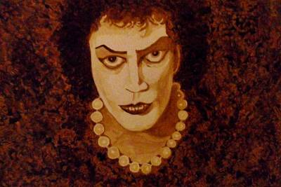 Tim Curry Painting - Dr. Frank-n-furter by Terry DeMars