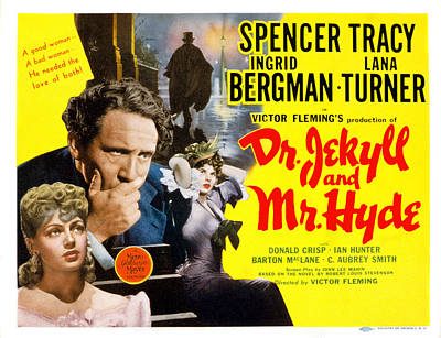 Dr. Jekyll And Mr. Hyde, Lana Turner Art Print