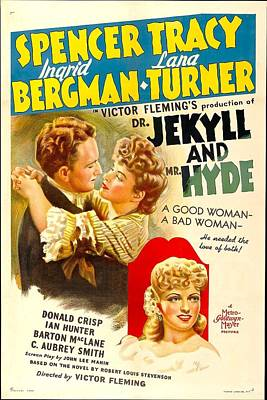 Dr. Jekyll And Mr. Hyde, Spencer Tracy Art Print by Everett