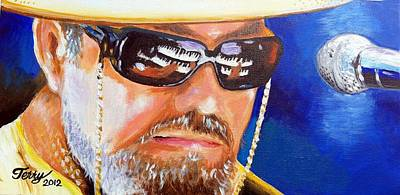Painting - Dr John by Terry J Marks Sr