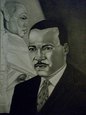 Dr. Martin Luther King Jr. Print by Handy