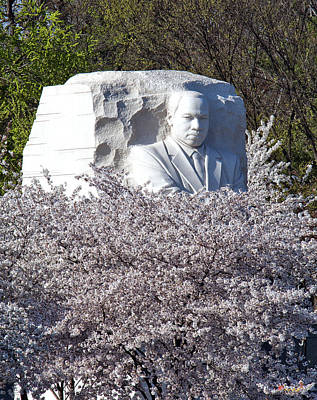 Photograph - Dr Martin Luther King Jr Memorial Ds053 by Gerry Gantt