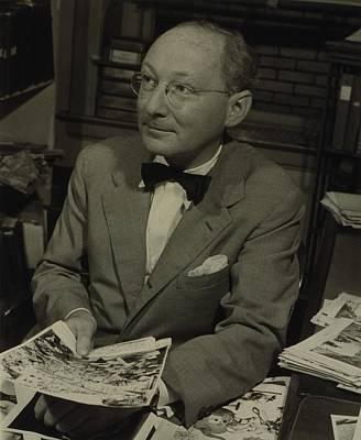 Dr. Otto Bettmann, A German Jewish Art Print