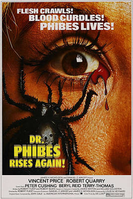 Horror Movies Photograph - Dr. Phibes Rises Again, Aka Dr. Phibes by Everett