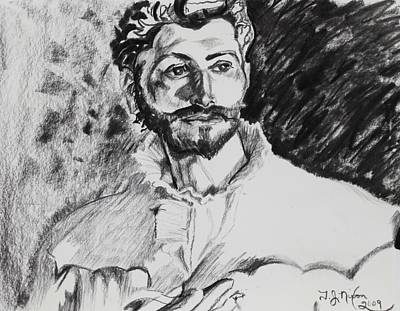Dr. Pozzi Art Print