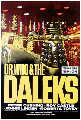 Dr. Who And The Daleks, 1965 Art Print by Everett