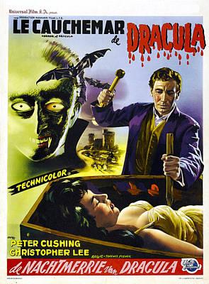Dracula, Aka The Horror Of Dracula, Aka Art Print by Everett