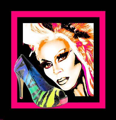 Drag And Stilettos Art Print