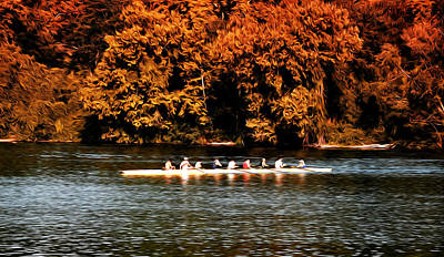 Phillies Photograph - Dragon Boat On The Schuylkill by Bill Cannon