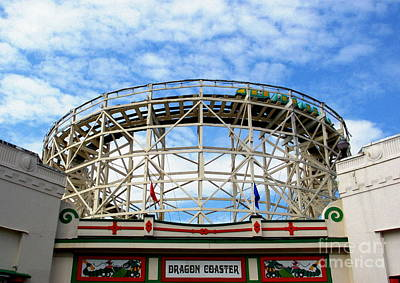 Photograph - Dragon Coaster by Maria Scarfone