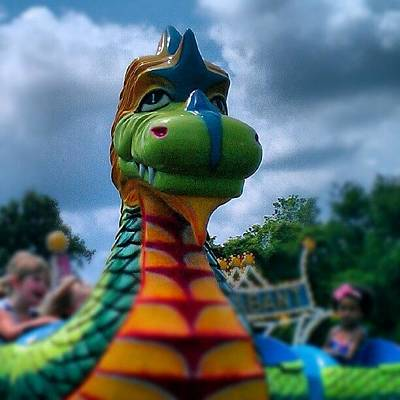 Dragon Photograph - #dragon #countyfair #fair #4h by Rich Toczynski