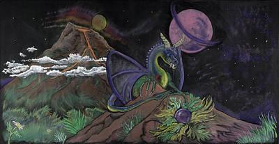 Dragon Dreamz Art Print by Robin Hewitt