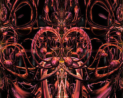 Bookmarks Digital Art - Dragon Fire Wizard Fx  by G Adam Orosco
