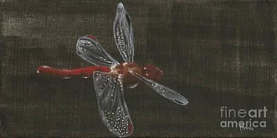 Painting - Dragonfly by Annemeet Hasidi- van der Leij