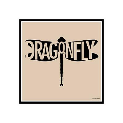Digital Art - Dragonfly by Geoff Strehlow