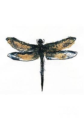 Creepy Mixed Media - Dragonfly by Katherine Astles